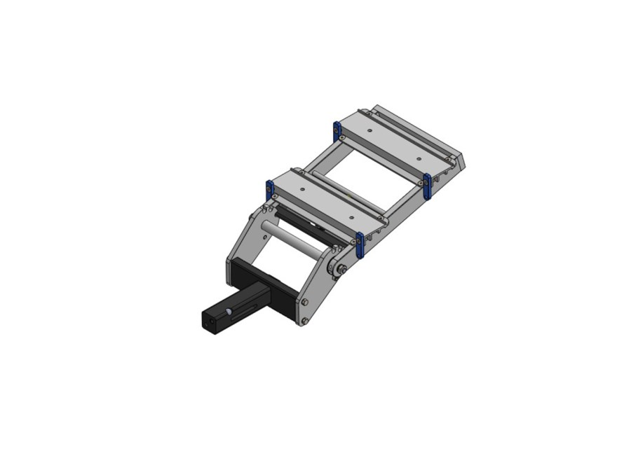 """2"""" Double Hitch Assembly Slotted"""