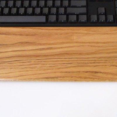 Oak Wrist Rest A - Full Size-0