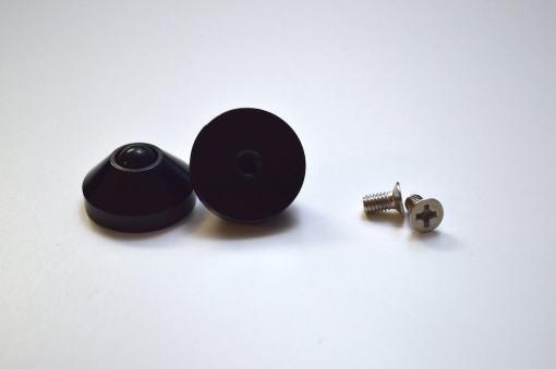 DIY JD40 2-Plate Carbon Fiber Black V2 Kit-1738