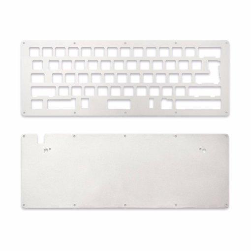 DIY LJD61UP Universal 2-Plate Stainless Steel Keyboard Kit-0