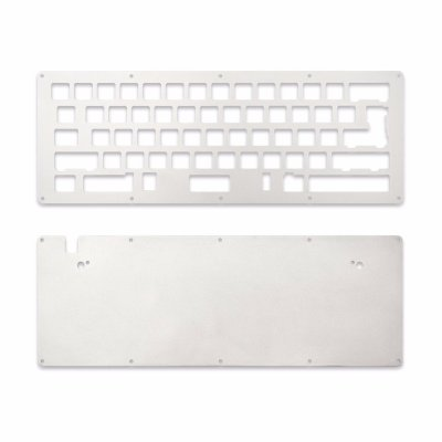 DIY LJD61UP Universal 2-Plate Stainless Steel Keyboard Kit-0