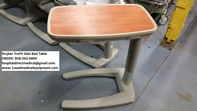 Hill Rom Over Bed Tables For Sale Patient Mate 632 F Model
