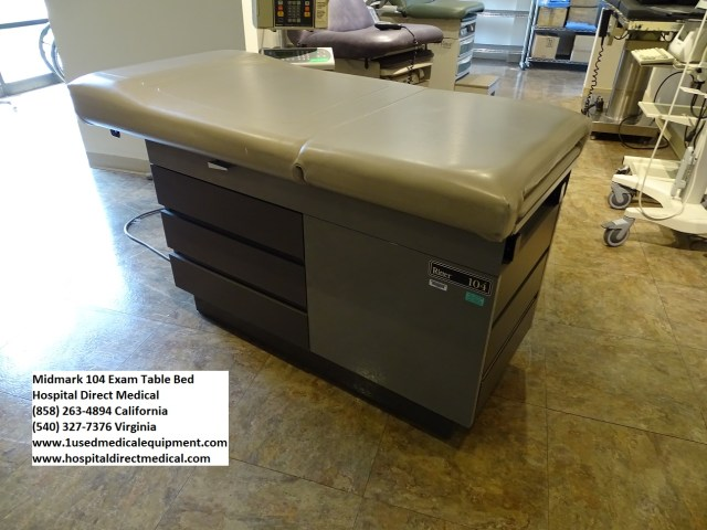 Midmark 104 Exam Table Used Hospital Medical Equipment