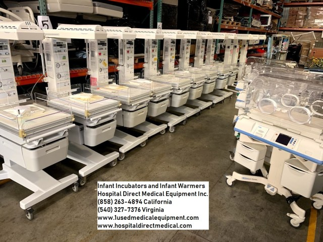 Infant incubators and infant radiant warmers NICU