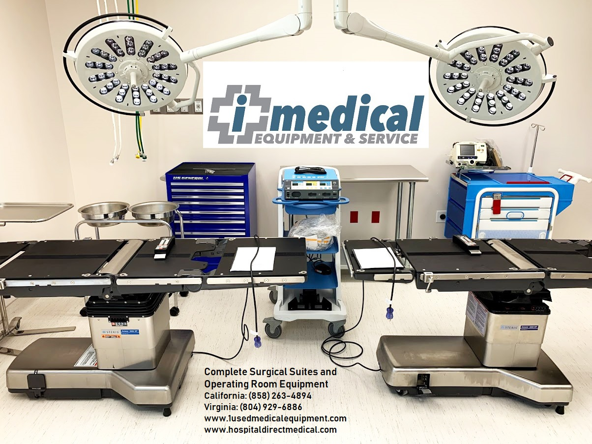 Used Hospital Medical Equipment | New, used and refurbished