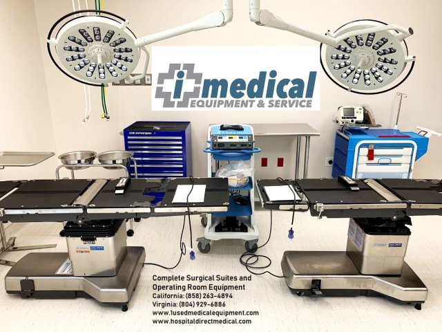 iMedical surgical equipment for sal