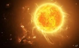 Planète de l'astrologie: le Soleil