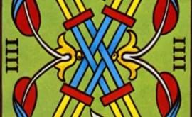 Le Quatre des Bâtons