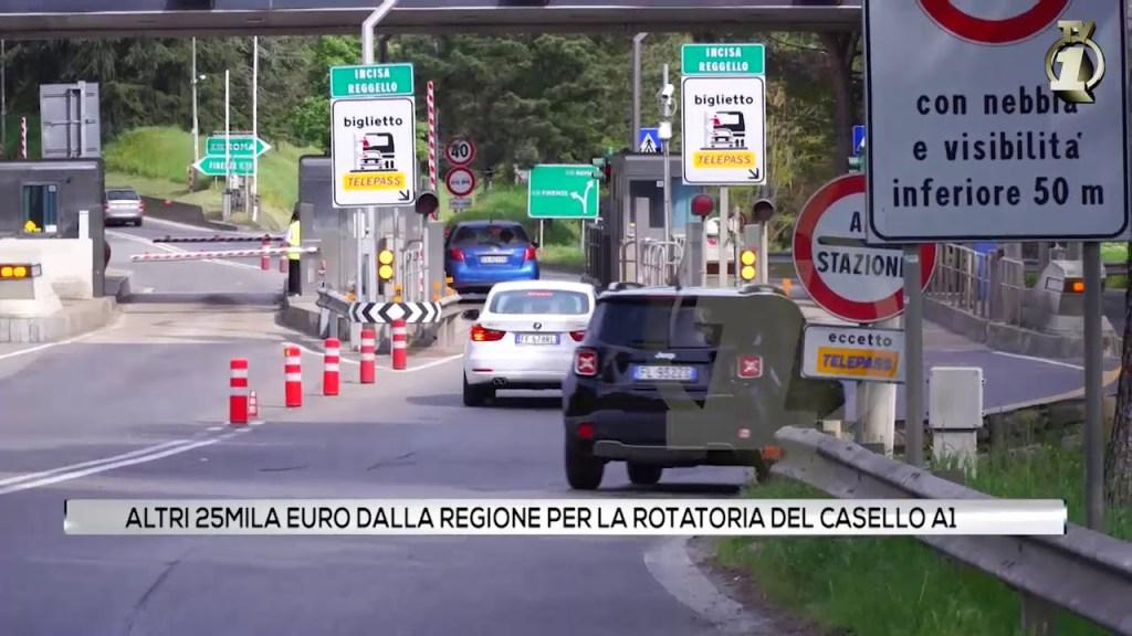 Altri 25mila euro dalla Regione per la rotatoria del casello A1