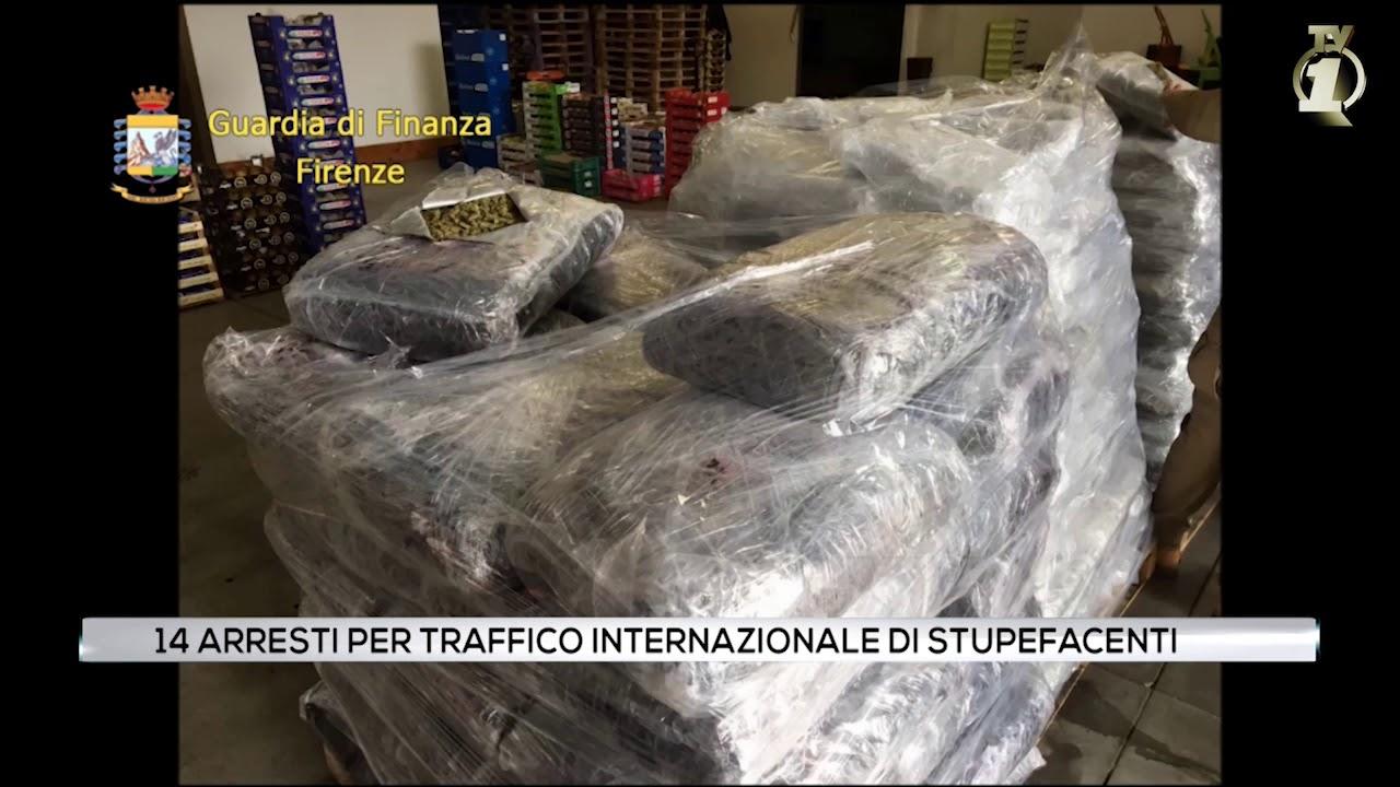 14 arresti per traffico internazionale di droga