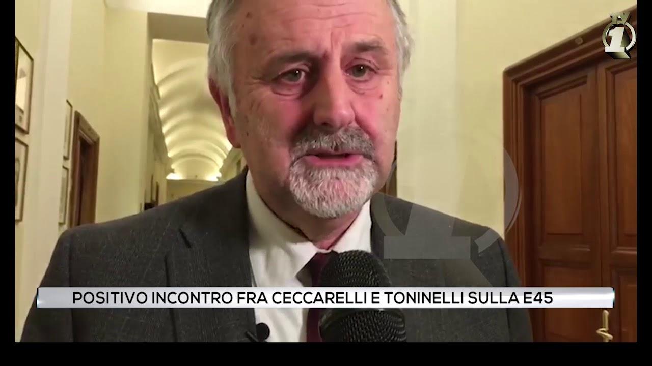 Positivo incontro tra Ceccarelli e Toninelli sulla E45