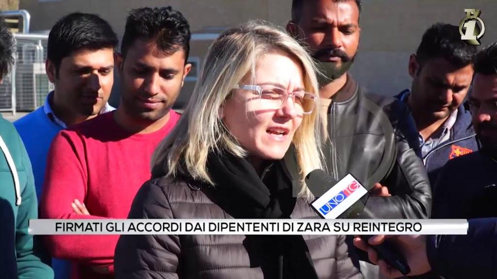 Firmati gli accordi dai dipendenti di Zara su reintegro 8baccff03a7