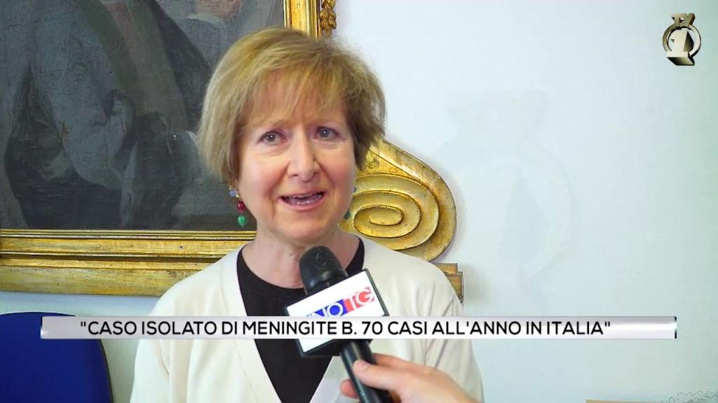 """""""Caso isolato di meningite B. 70 all'anno in Italia"""""""