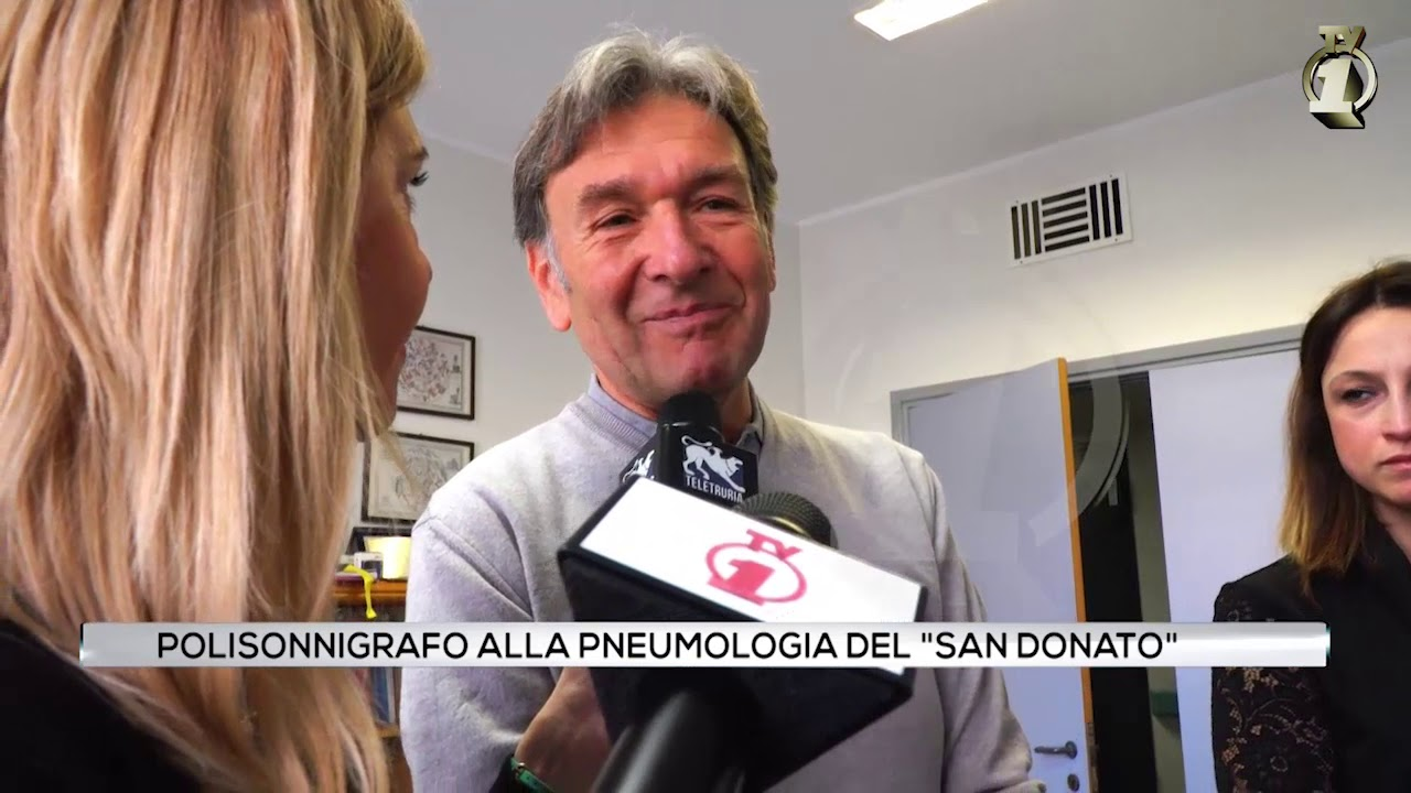Polisonnigrafo alla pneumologia del San Donato