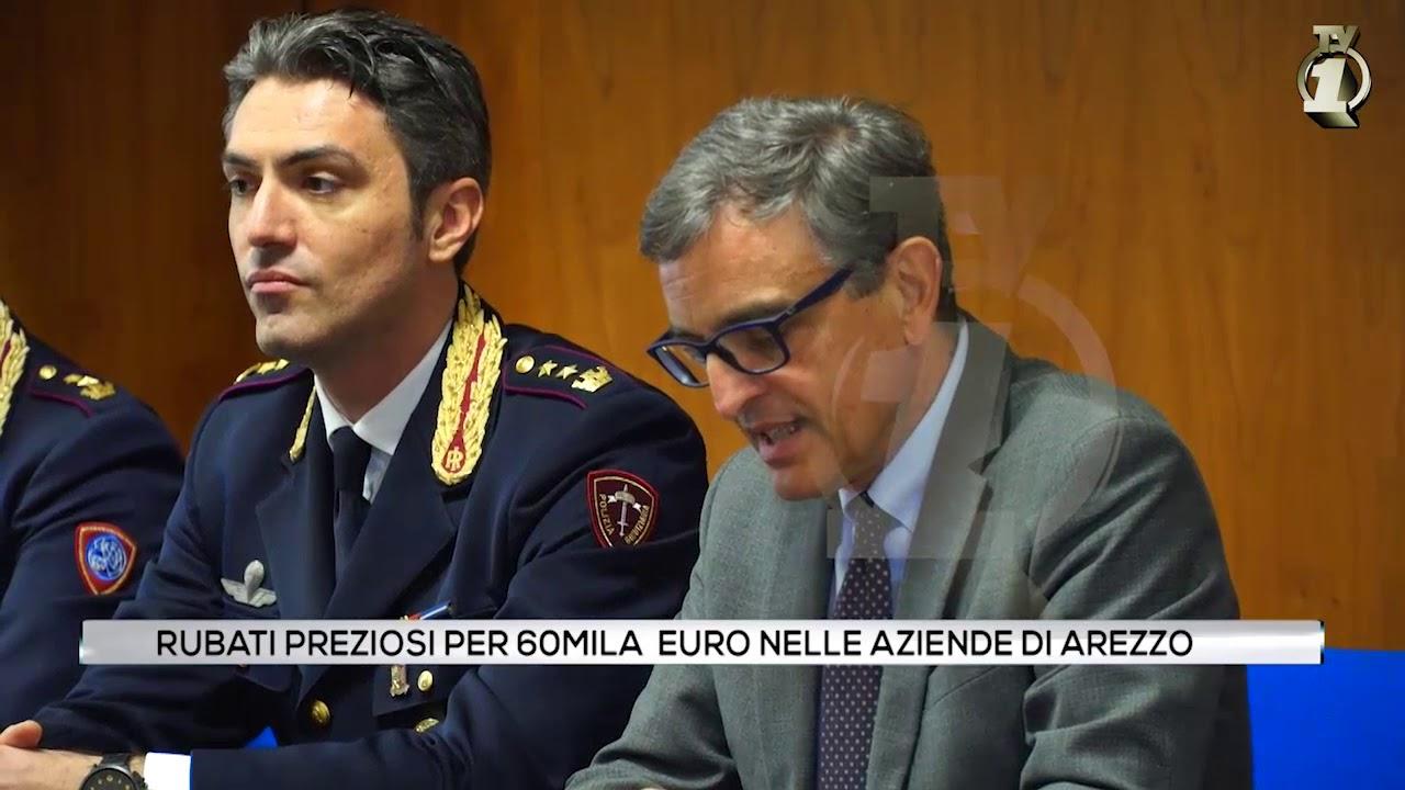 Ladri in azione: rubati preziosi per 60.000 euro