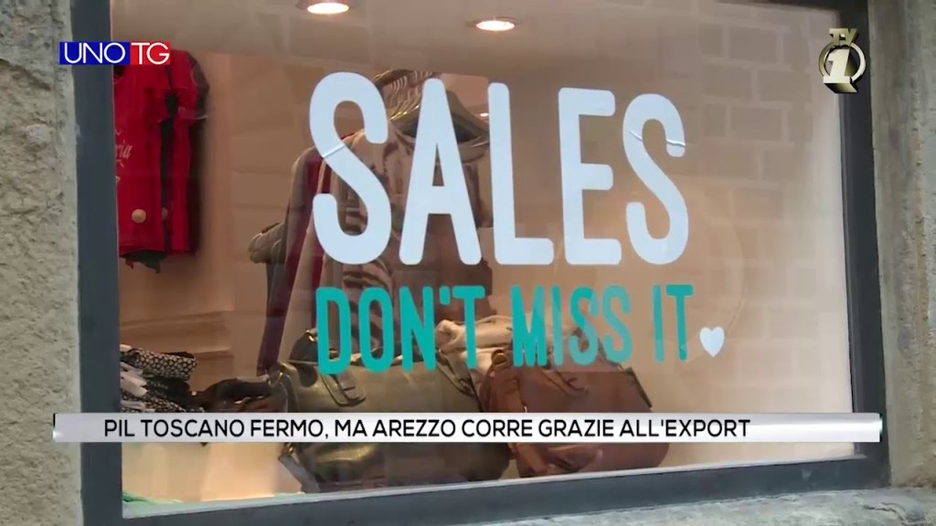 Pil toscano fermo, ma Arezzo corre grazie all'export