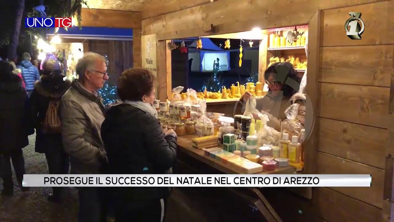 Prosegue il successo del Natale nel centro di Arezzo