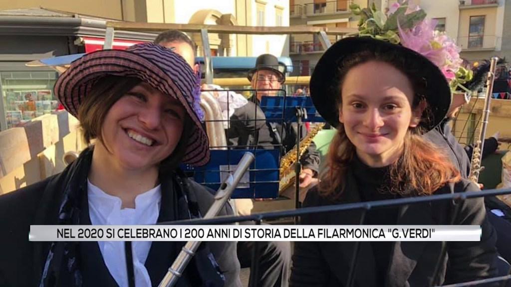 """Nel 2020 si celebrano i 200 anni di storia della Filarmonica """"G.Verdi"""""""