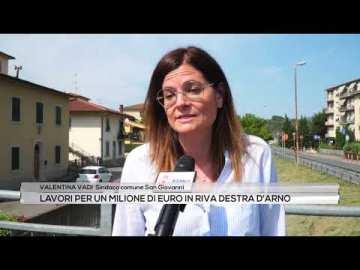 Lavori per un milione di euro in riva destra d'Arno