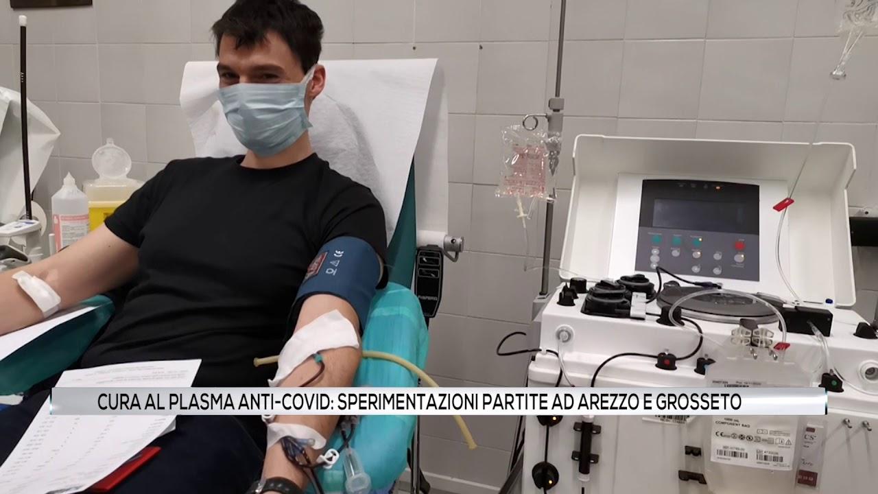 Cure al plasma anti-Covid. Partono le sperimentazioni ad Arezzo e Grosseto