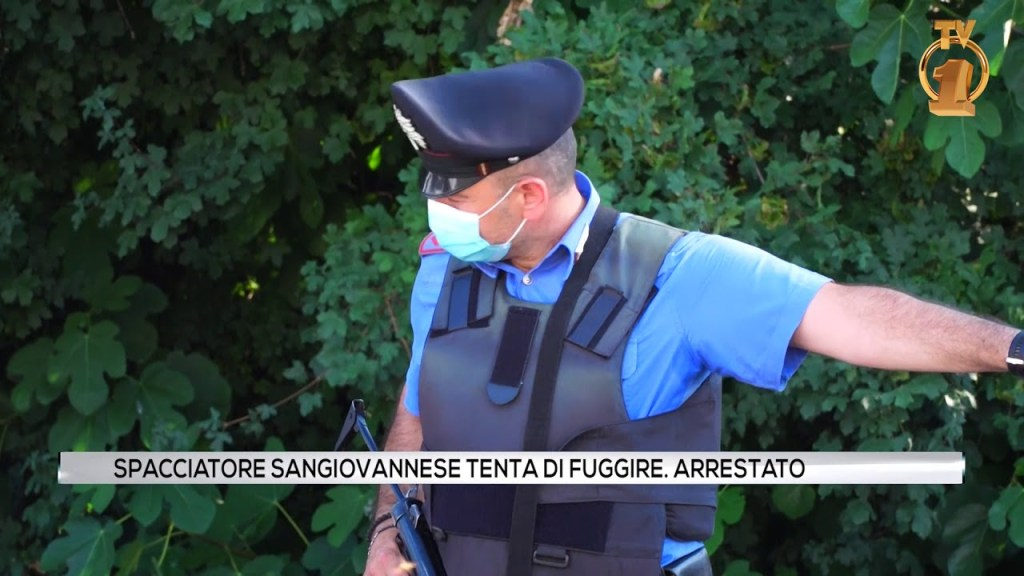 Arrestato spacciatore a San Giovanni Valdarno
