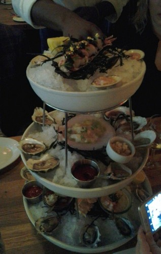 Ehlers seafood tower