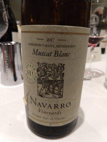 Navarro Muscat 2017