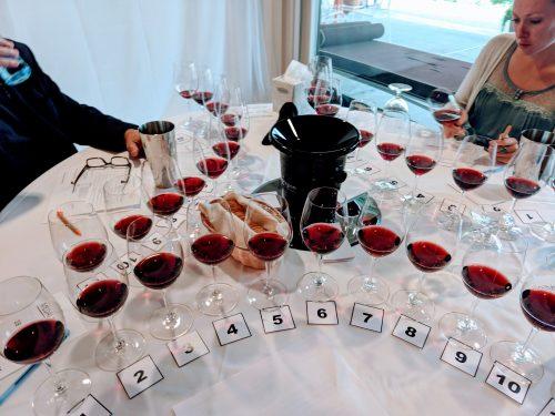 2018 Oregon Wine Experience judging