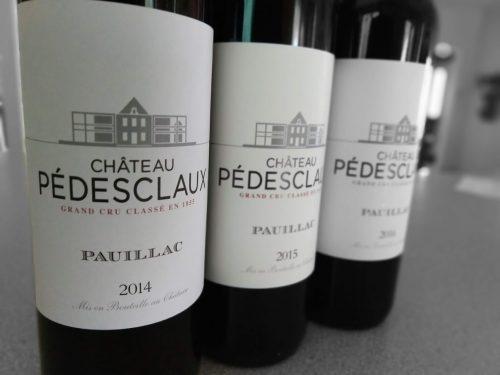 Château Pédesclaux lineup