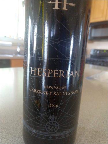 Hesperian Cabernet 2010