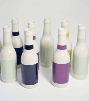 etikette flaske
