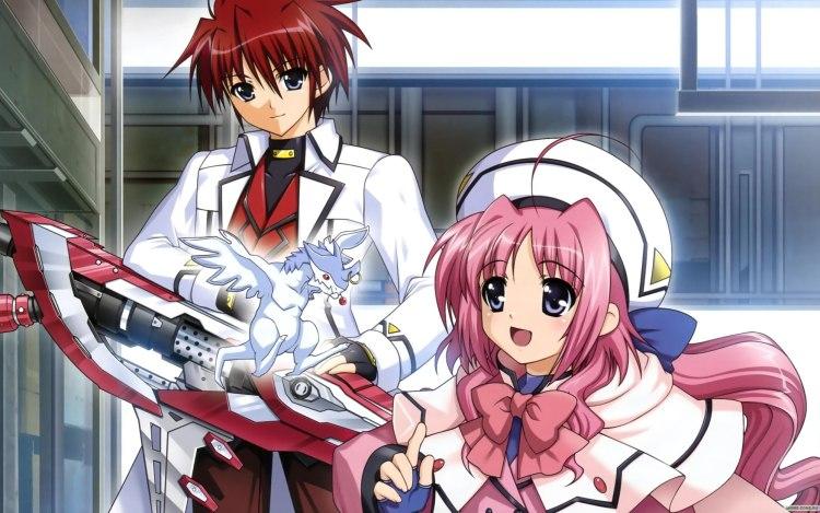Image result for anime lyrical nanoha