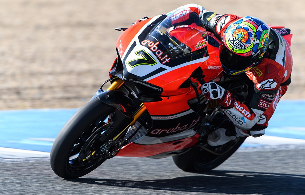 Test conclusi a Jerez per il team Aruba.it Racing – Ducati