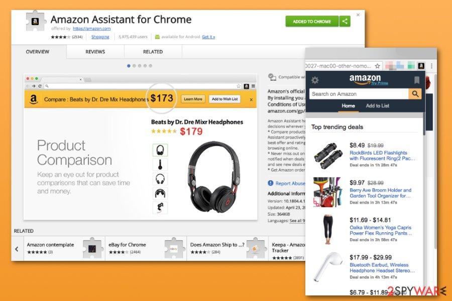 amazon extension google chrome