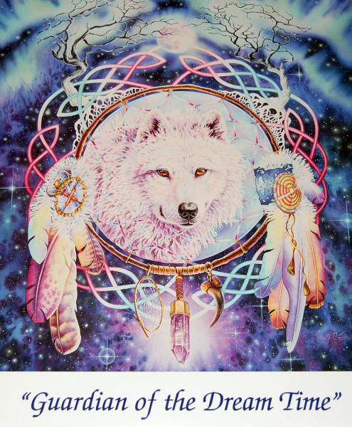 Guardian Of The Dream Time Leanin Tree Poster SKP869