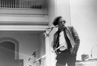 Ed Sanders - Photo credit: Karen Levy, 1987