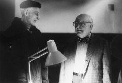 Edwin Denby and Virgil Thomson, 1979
