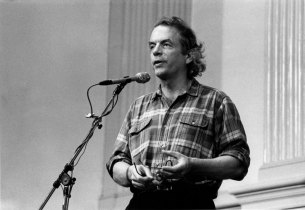 Spalding Gray - Photo credit: Jacob Burckhardt, 1990