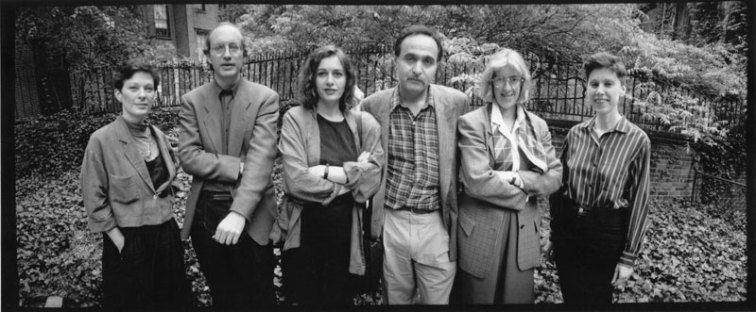 Ann Lauterbach, Eliot Weinberger, Chris Tysh, Murat Nemet-Nejat, Rachel Blau DuPlessis & Elaine Equi - Photo credit: Laure Leber