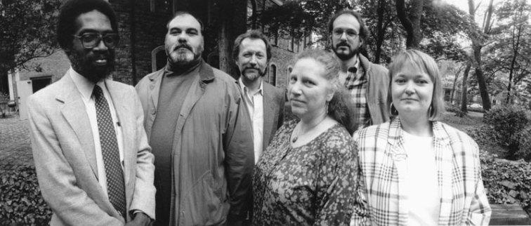 Lorenzo Thomas, Ray di Palma, Gary Lenhart, Diane di Prima, Lorna Smedman - Photo credit: Laure Leber