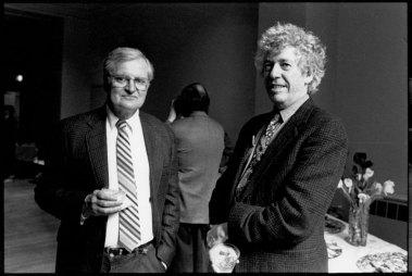 John Ashbery & Kenneth Koch - Photo credit: Laure Leber