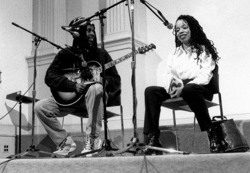 Tracie Morris & Vernon Reid - Photo Credit: Melissa Zexter, 1998