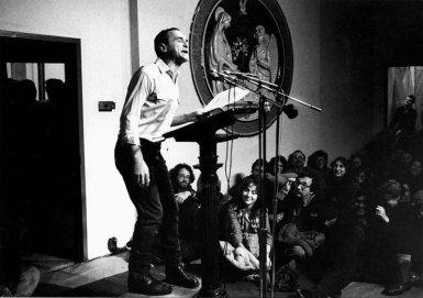 John Giorno - Photo credit: Sarah Wells, 1981