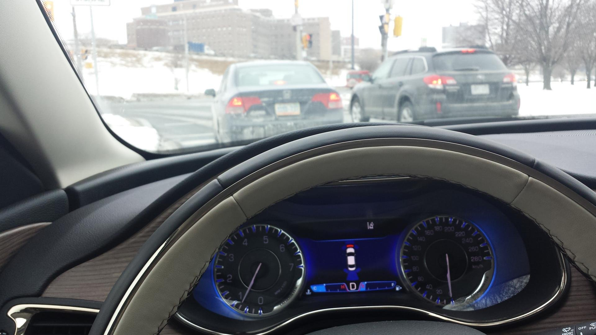 Issue With Parking Sensors 2015 Chrysler 200C