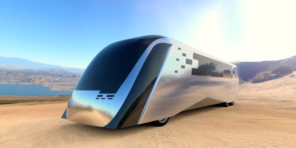 Advanced Clean Touring Bus Concept Foresee Car Design