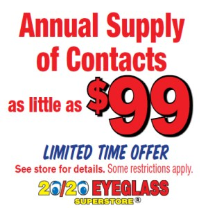 $99 Contacts