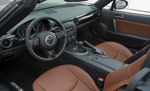 2021 Mazda MX-5 Miata Grand Touring Interior