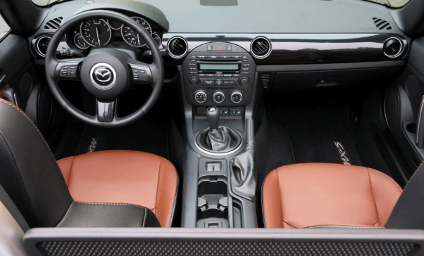 2020 Mazda MX-5 Miata Grand Touring 0-60 Interior
