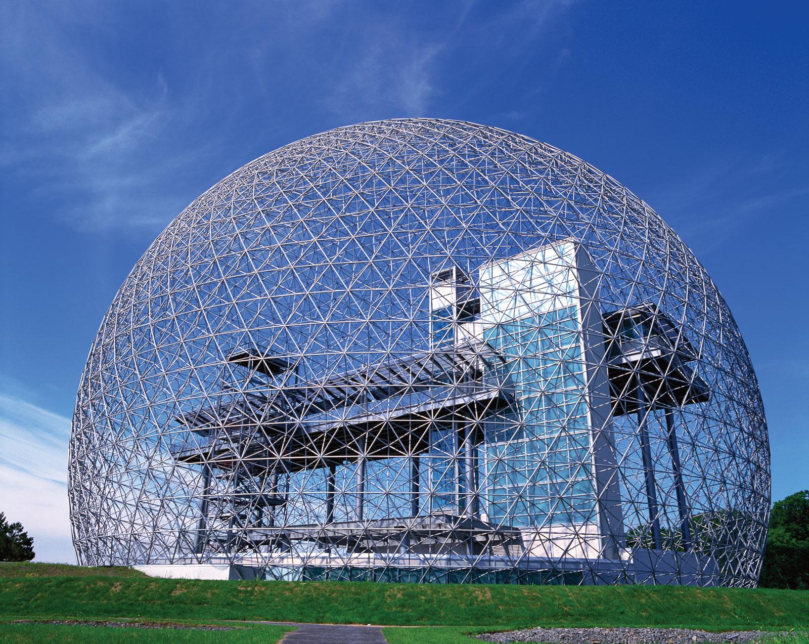 biosphere Montreal Richar Buckminster Fuller