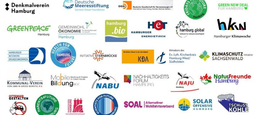 Logos Hamburger Klima-Appell